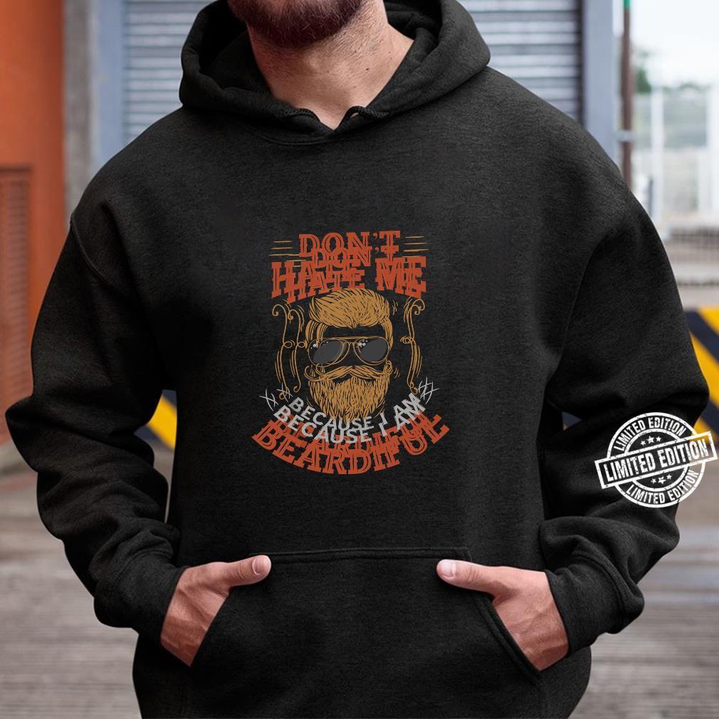 Bearded Daddy Beard Bearded Dad Beard Shirt hoodie