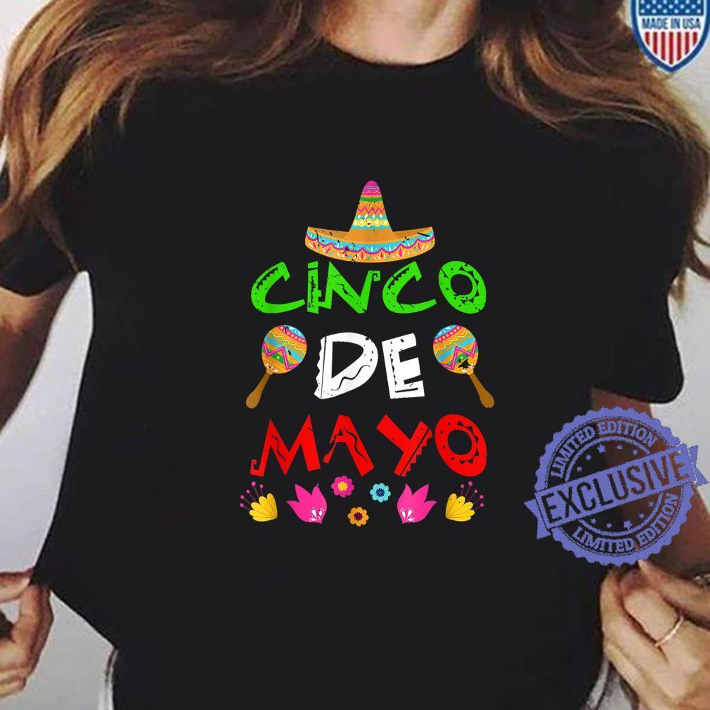 Mexico Cinco de Mayos Cinco De Mayo Shirt ladies tee