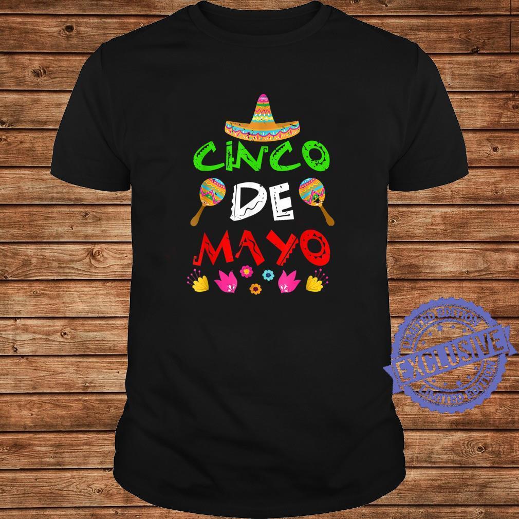Mexico Cinco de Mayos Cinco De Mayo Shirt long sleeved