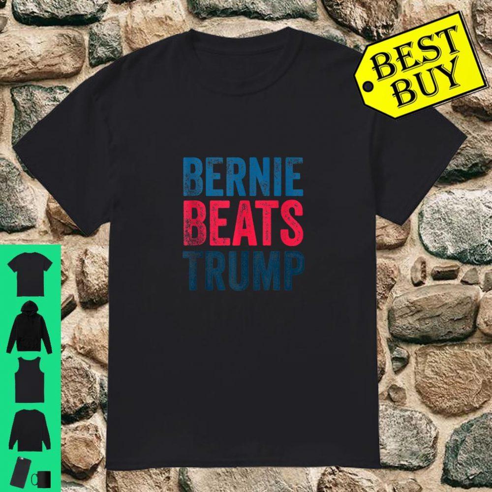 Bernie Beats Trump Shirt