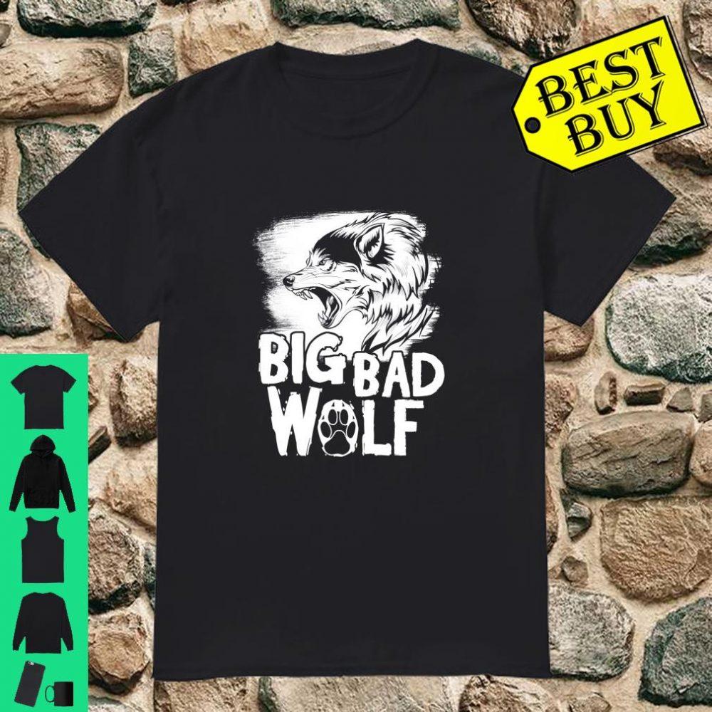 Big Bad Wolf Halloween shirt