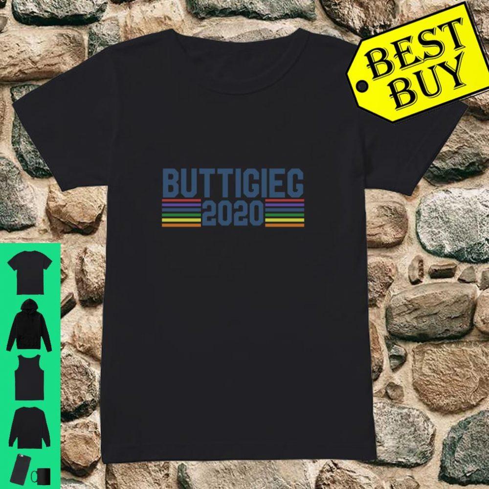 Buttigieg 2020 retro shirt ladies tee