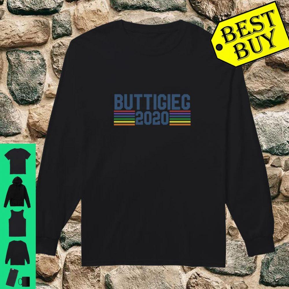 Buttigieg 2020 retro shirt long sleeved