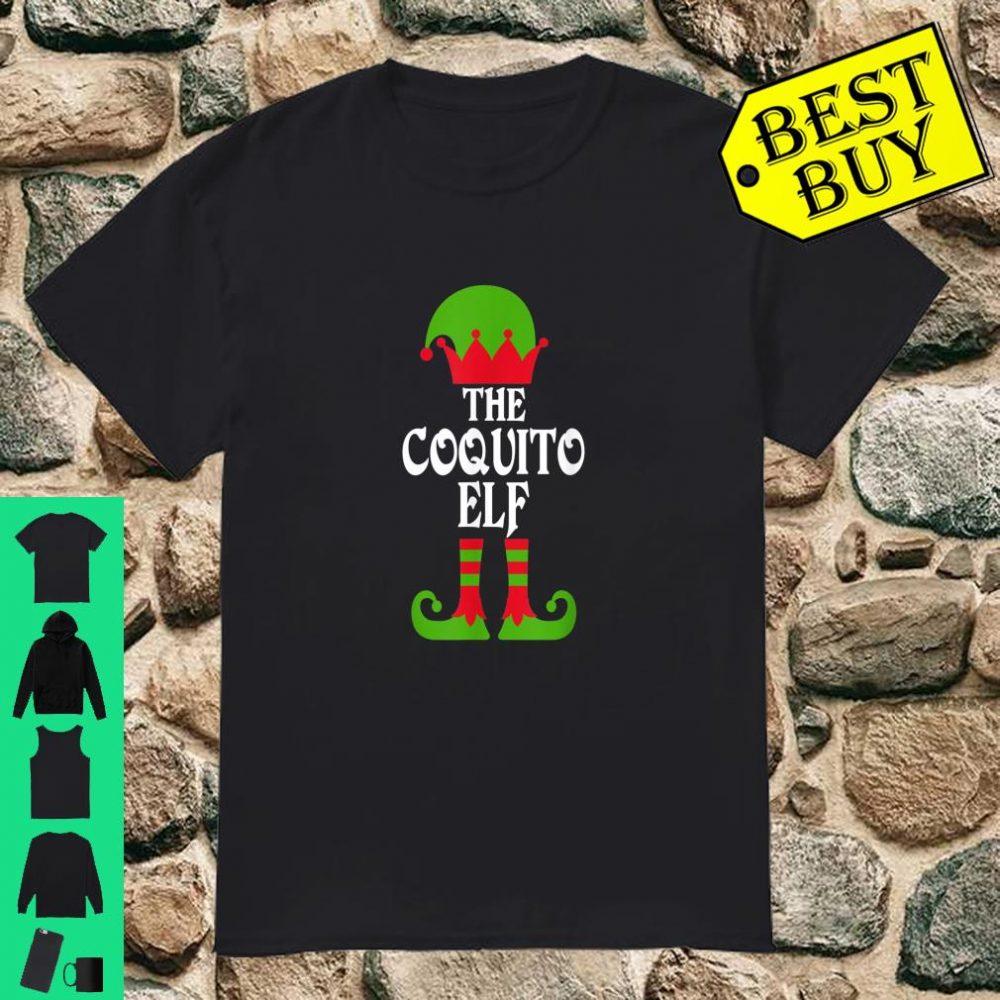 Coquito Elf Christmas Boricua Puerto Rican shirt