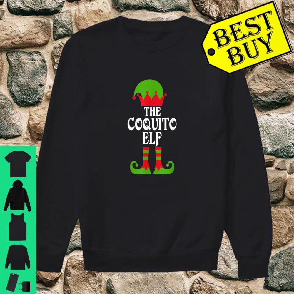 Coquito Elf Christmas Boricua Puerto Rican shirt sweater