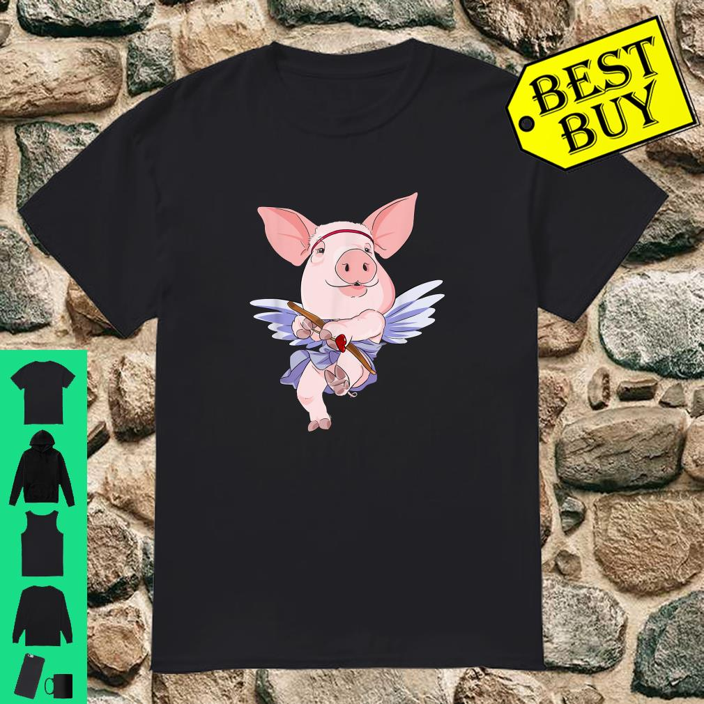Cupid Pig Valentines Day shirt