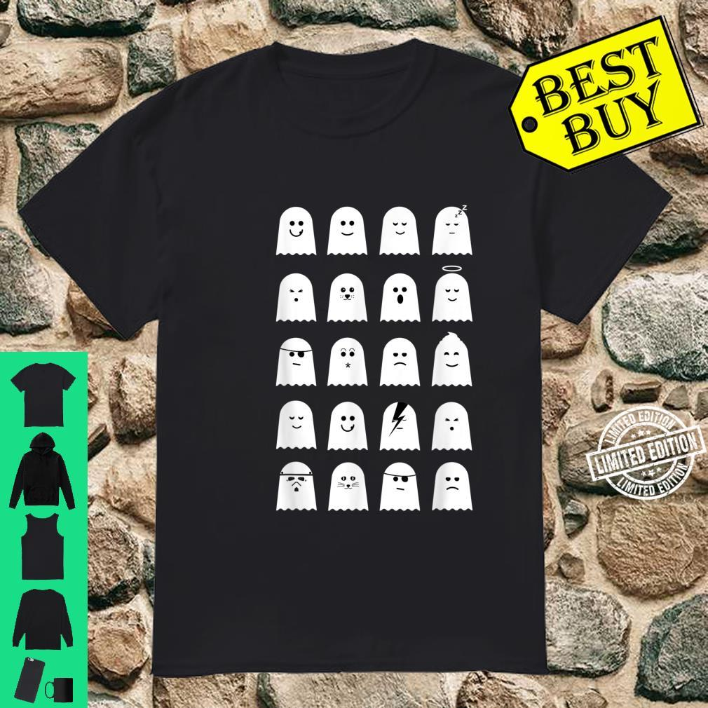 Cute Ghosts Design for Halloween and Beyond Shirt