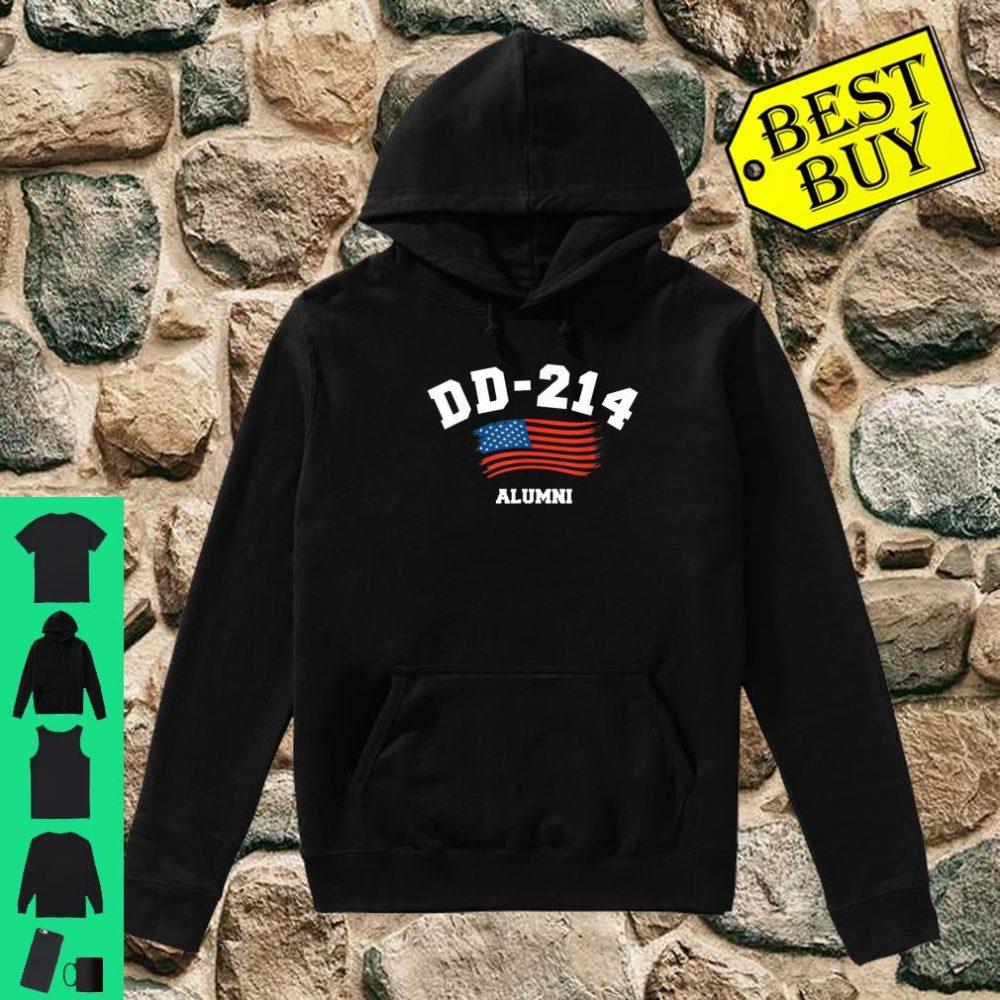 DD-214 US Armed force Army ALumni Shirt hoodie