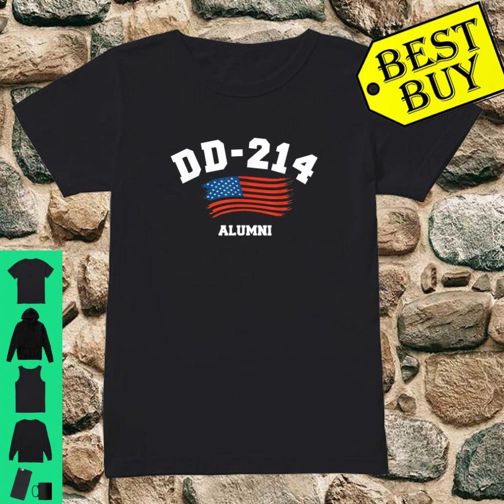 DD-214 US Armed force Army ALumni Shirt ladies tee