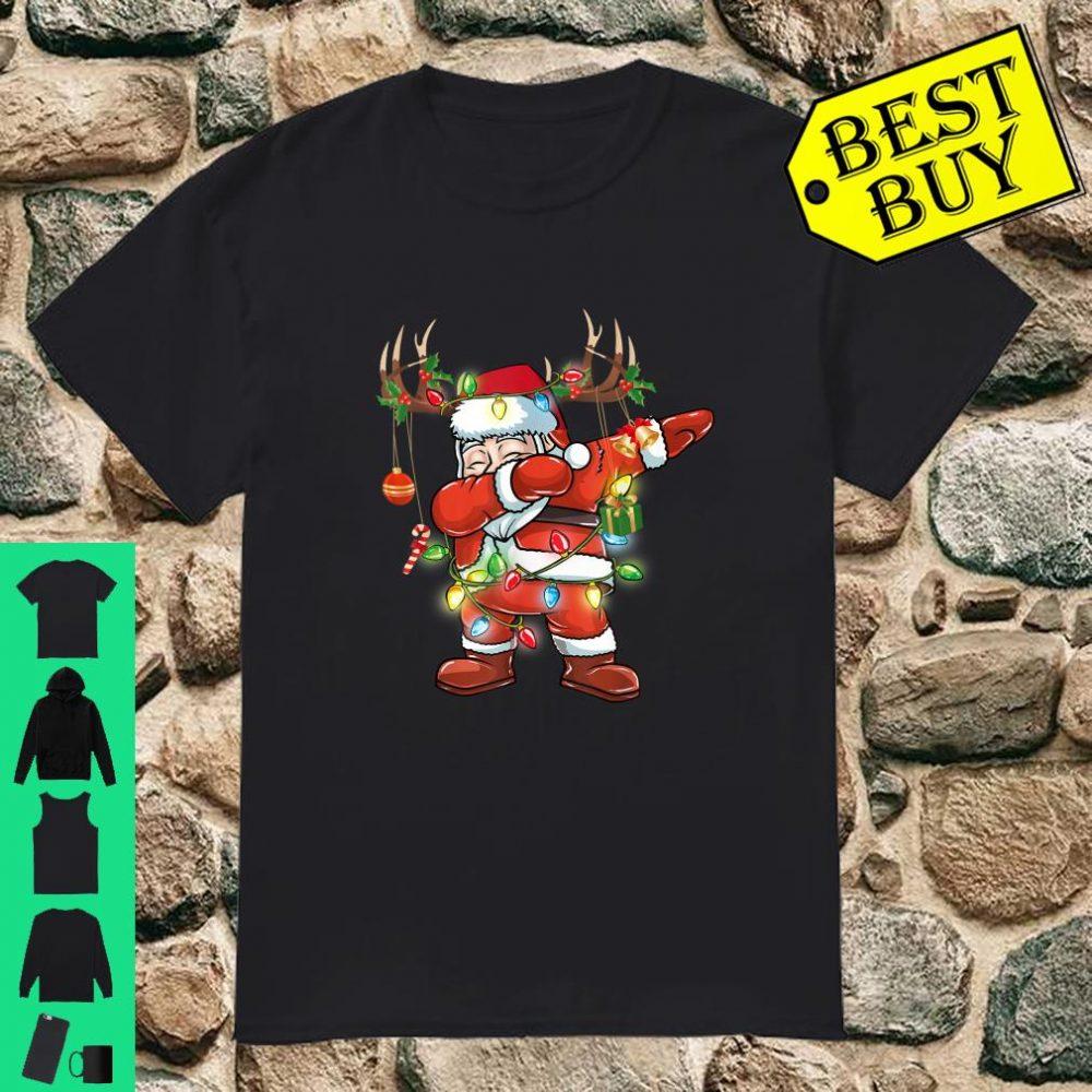 Dabbing Santa Claus Christmas shirt