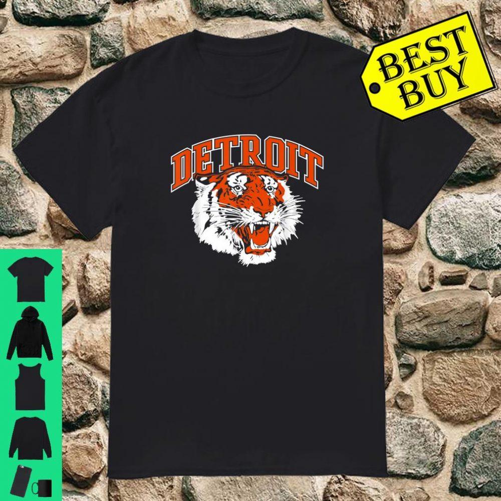 Detroit Baseball Vintage Michigan Bengal Tiger Retro shirt