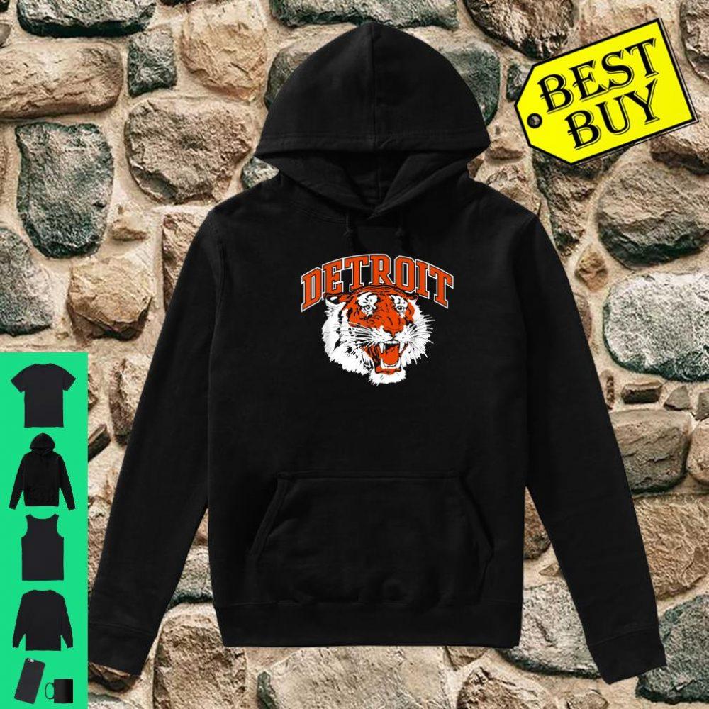 Detroit Baseball Vintage Michigan Bengal Tiger Retro shirt hoodie