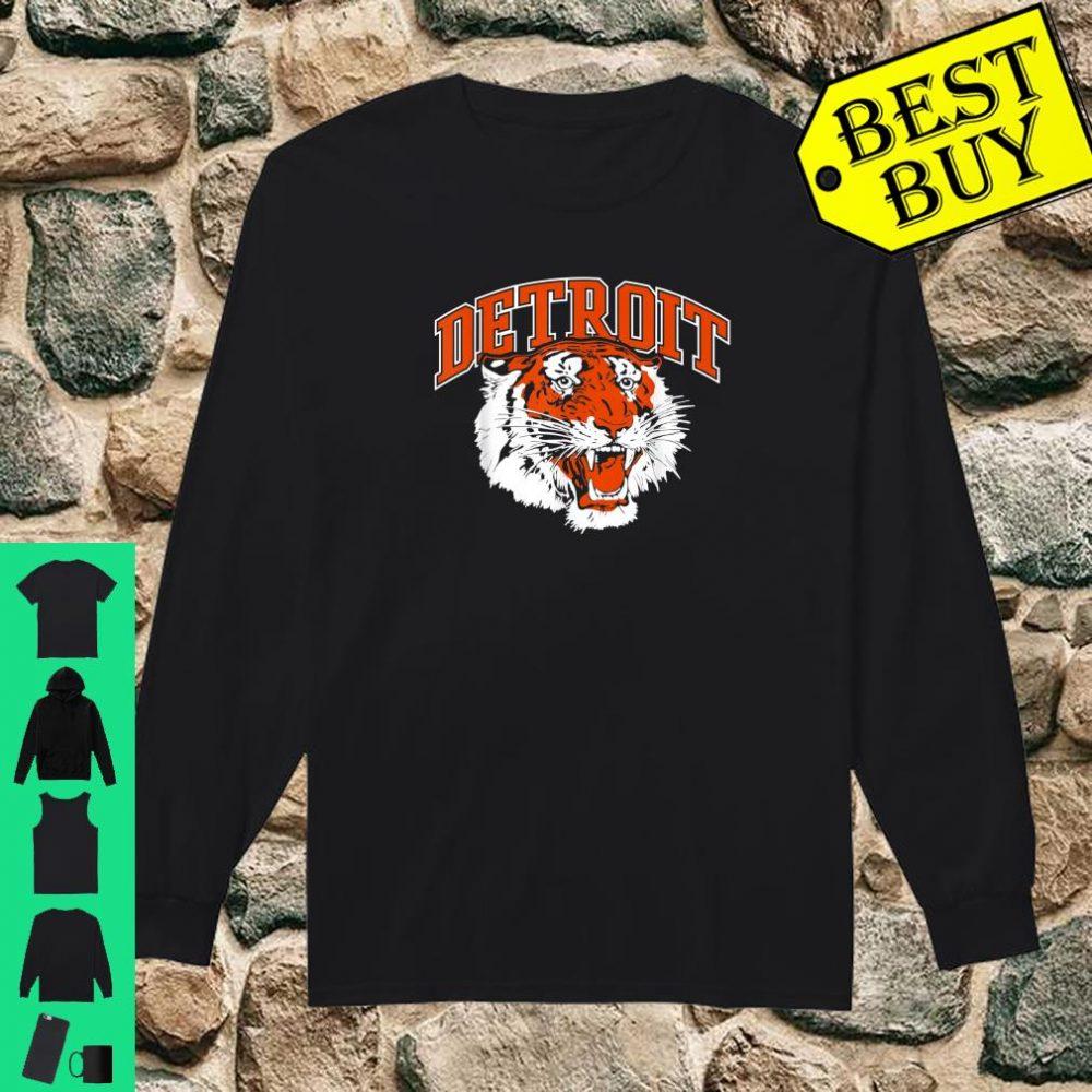 Detroit Baseball Vintage Michigan Bengal Tiger Retro shirt long sleeved