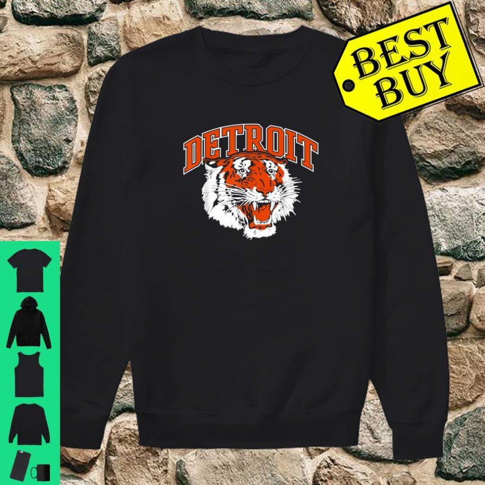 Detroit Baseball Vintage Michigan Bengal Tiger Retro shirt sweater