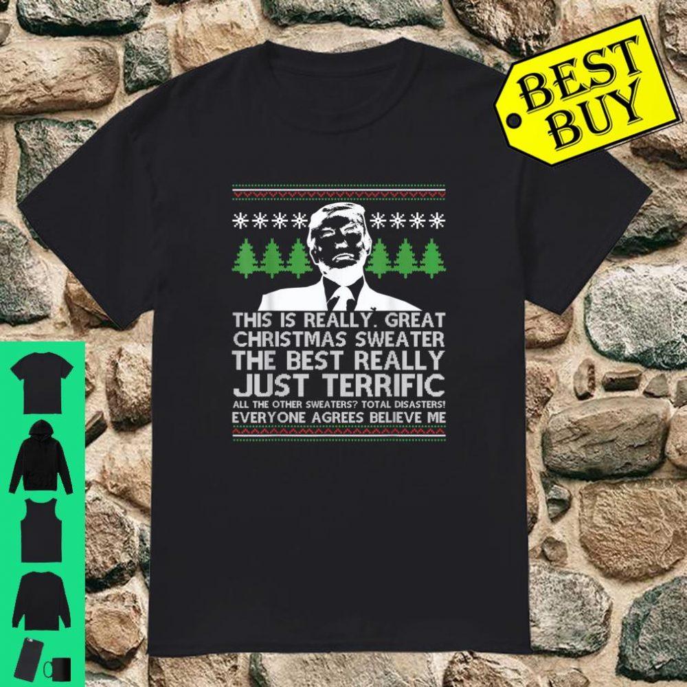Donald Trump Ugly Christmas Sweater Trump Xmas shirt