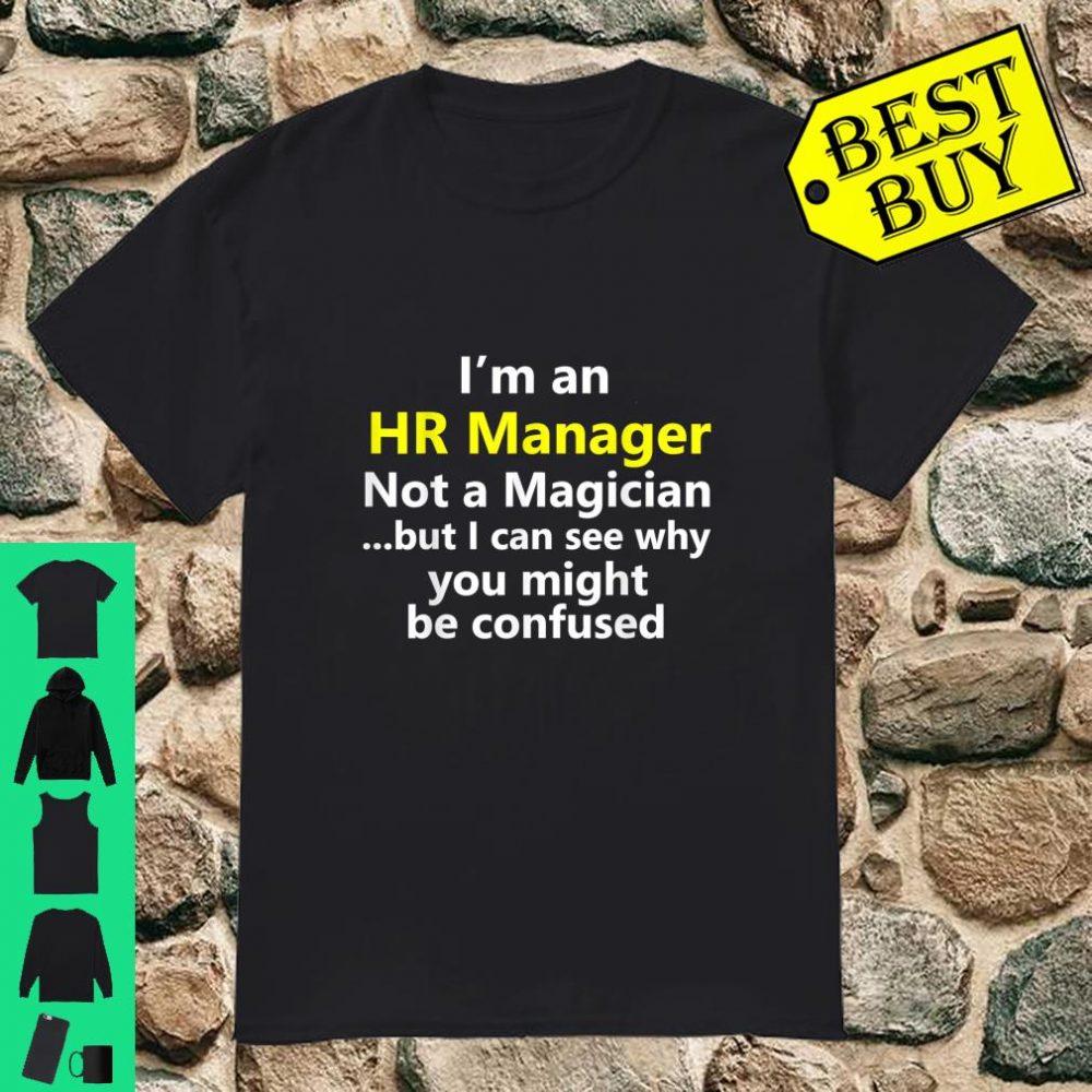 HR Manager Job Career Occupation Profession Shirt