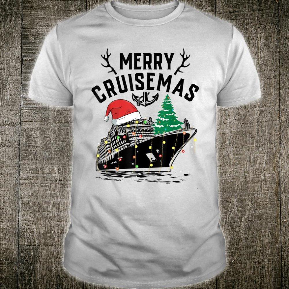 Merry Cruisemas Cruise Ship Family Christmas Gift shirt