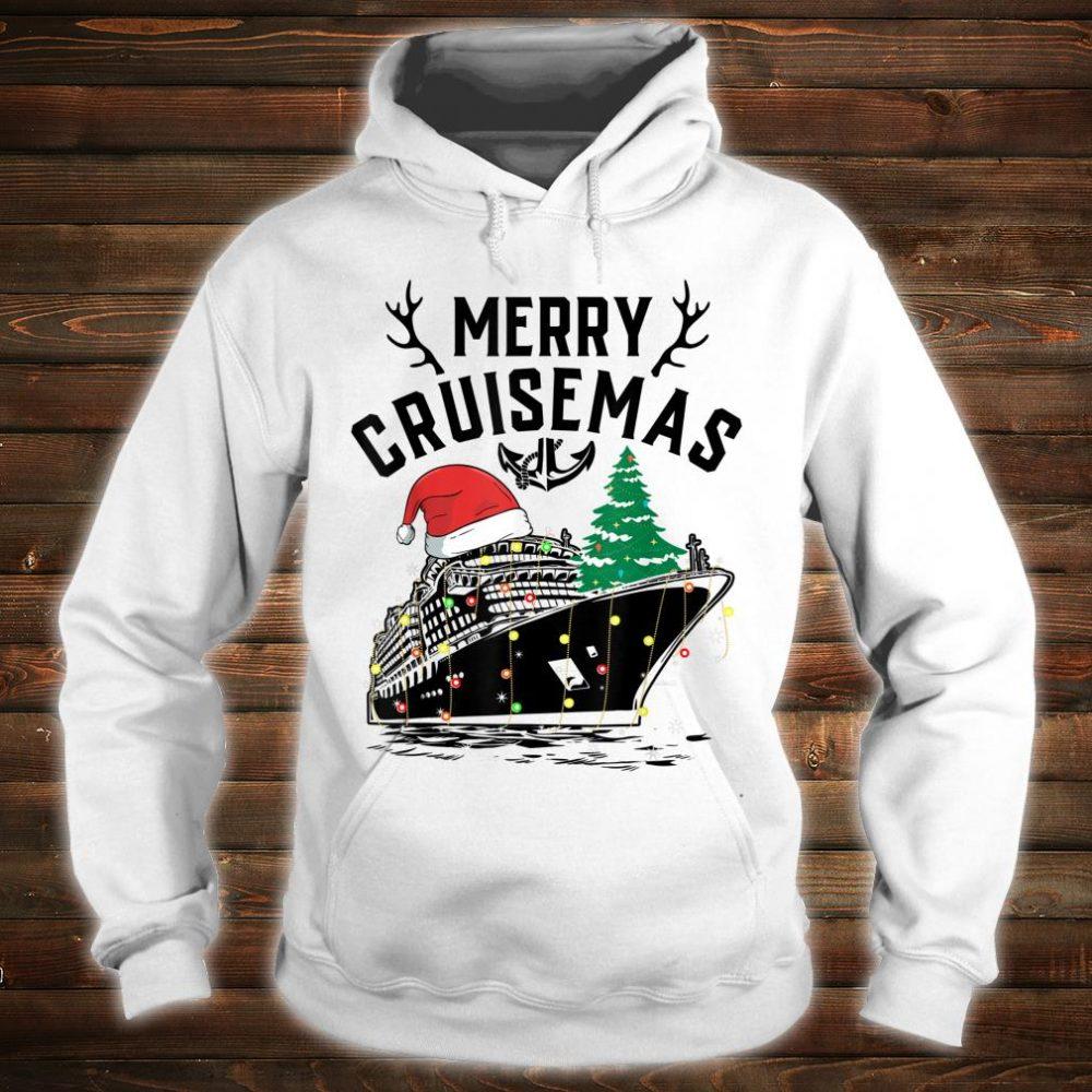 Merry Cruisemas Cruise Ship Family Christmas Gift shirt hoodie