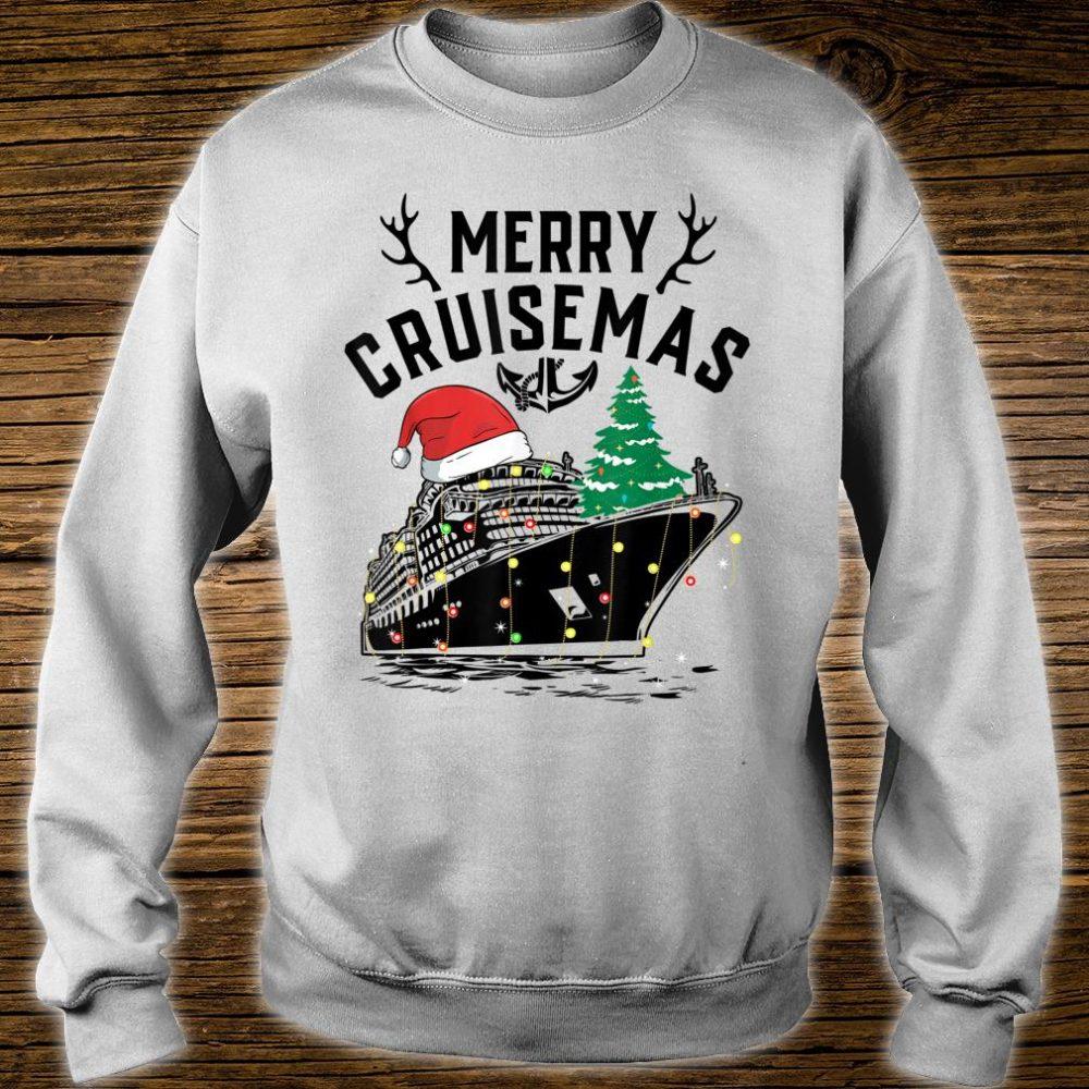 Merry Cruisemas Cruise Ship Family Christmas Gift shirt sweater