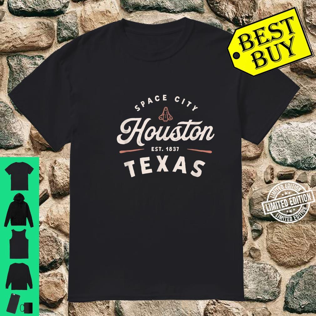 Rustic Classic Houston Texas 1837 Space City USA Shirt