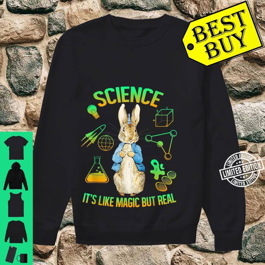 Science Is Like Magic But Real Bunny Unicorn Scientist Shirt sweater