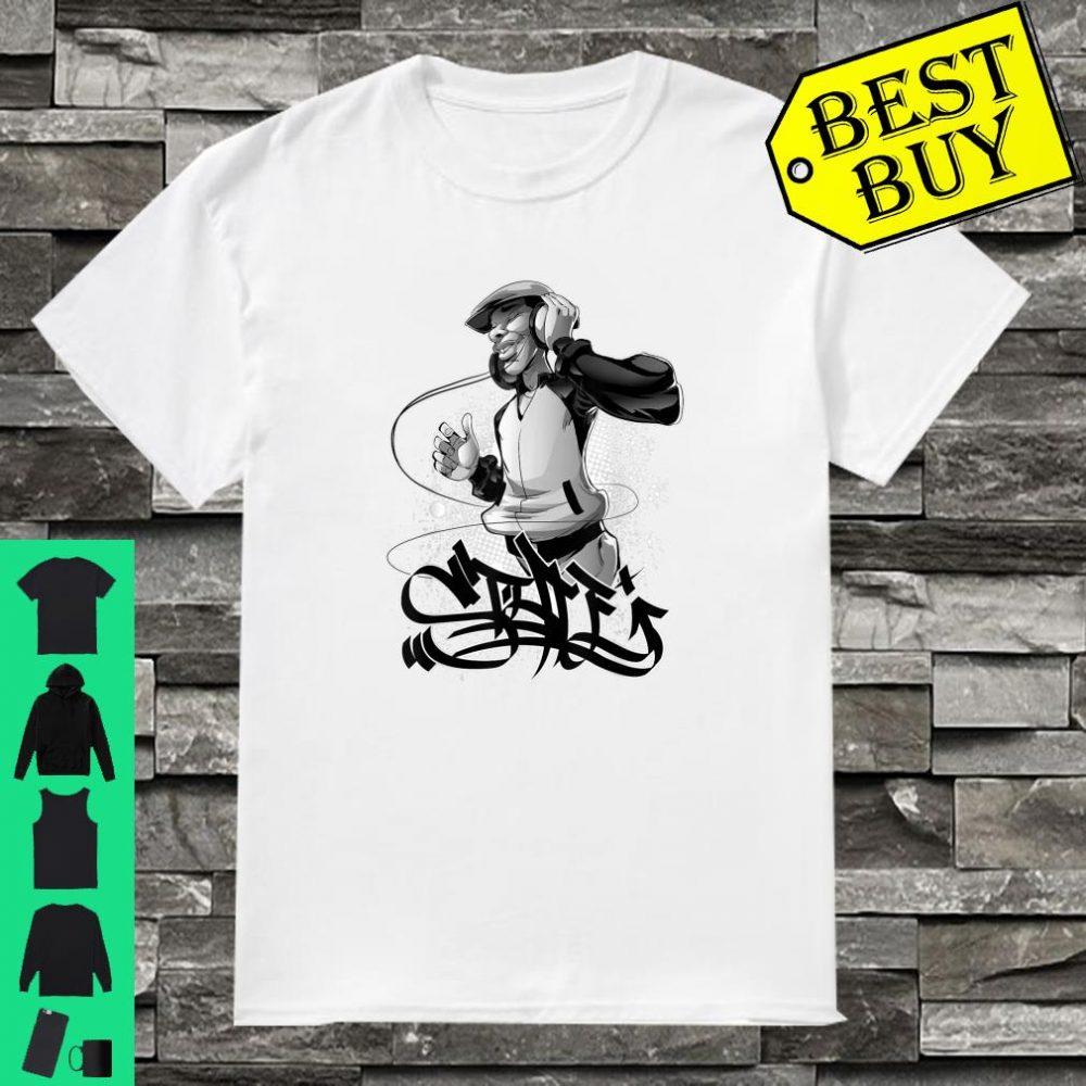 Vibes Hip Hop Kleidung für Männer Frauen Jungen Mädchen Shirt